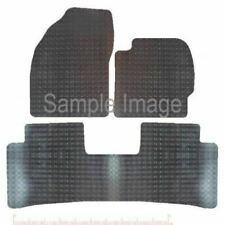 TOYOTA PRIUS 2012 to 2015 (3 PCS TAXI VERSION) RUBBER CAR MAT FULLY TAILORD
