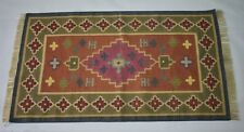 Hand Knotted Multi Color Romania Traditional 3x5 Feet Area Rug,