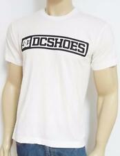 DC Shoes Balance Box White 100% Cotton T-Shirt New NWT Mens Small