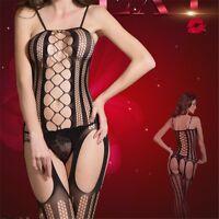 Women's Sexy Lingerie Babydoll Lace Bodysuit G-string Underwear Nightwear