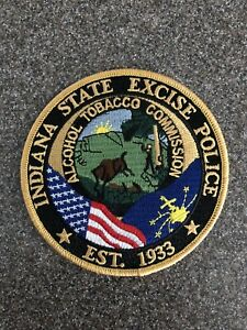 Indiana State Excise Police Patch IN