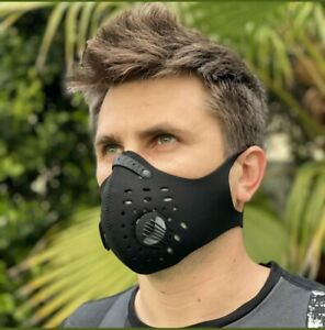 Activated respiratory Filtered breathable mask,pollutant&debris filter