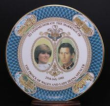 Prince Charles & Lady Diana Spencer Marriage Limited Edition Majestic Plate - A