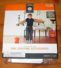 Halloween Decorate Your Own OWL COSTUME ACCESSORIES Activity Kit Ages 4+ NEW