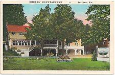 Rhodes Mountain Inn in Scotrun PA Postcard