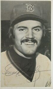 Dennis Eckersley Boston Red Sox Vintage 3.5x6 Signed Autographed Postcard JSA