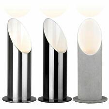 Standing Uplighter Floor Lamp 23cm Black / Chrome Metal Flood Spot Light