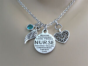 Nurse Necklace, Nurse Jewelry, Gift for Nurse, Nurse Graduation Gift, Daughter