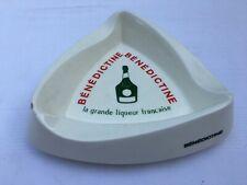 Gros et Ancien Cendrier de Bar vintage ashtray ads Bénédictine Liqueur