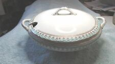 Vtg Covered Soup Tureen Serving Dish Vegetable Casserole Edwin Knowles Vitreous