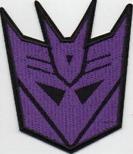 Transformers Decepticons robot iron-on patch embroidered logo badge 031