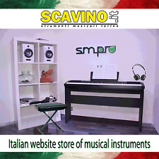 Pianoforte Digitale Casio CDP 130 con 88 Tasti pesati Stand Sgabello Cuffie