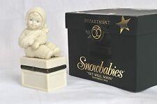 "2011 Snowbabies 4.5"" GET WELL SOON Sentiment Box  Department 56  MIB"