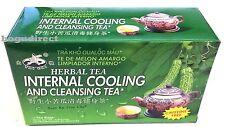 2 BOXES TAI CHI, INTERNAL COOLING TEA (Bittermelon Tea) 苦瓜茶 24 tea bags total