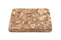 Iceberg Pattern Cork Rectangular Placemats Table Mats Dining 40x30cm Pack of 4