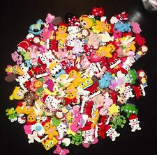 Huge Mixed Lot of 30 Flatback Resins! Great for DIY Hair Bow Scrapbooking Crafts