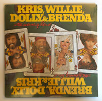 Kris, Willie, Dolly & Brenda - The Winning Hand - SEALED 1982 US 1st Press