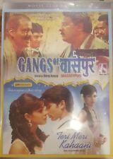 GANGS OF WASSEYPUR & TERI MERI KAHAANI RARE DVD INDIAN BOLLYWOOD MOVIES BOX SET