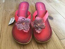 Lotus Ladies Coral Wedge Sandles Size 8. BNWT RRP £40.