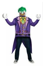 LEGO JOKER The Batman Movie Adult Mens Halloween Costume One Size Fits Most