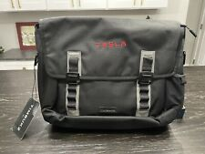 RARE TESLA Timbuk2 MESSENGER COMPUTER BAG, SATCHEL TSA Compliant Backpack