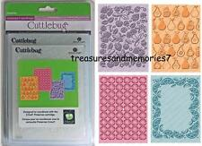 CUTTLEBUG Provo Craft PRESERVES 4 EMBOSSING FOLDERS A2 CHERRY PEAR CITRUS Last 1