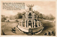 Sherborne Castle 14 Century English Architecture Postcard PC Unused England