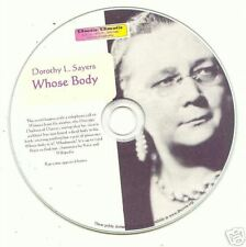 Dorothy L Sayers - Whose Body? - audio book Mp3 CD