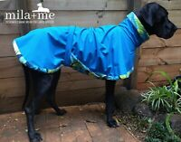 'ADVENTURA' Designer Waterproof Dog coat for Great Dane: in stock ready to send
