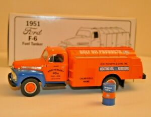 First Gear Collectible 1951 Ford F-6 Fuel Tanker 1:34 Scale