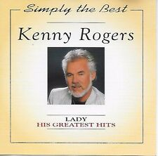 Kenny Rogers ‎– His Greatest Hits CD Album 1995