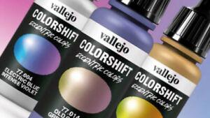Nail Art Manicure Acrylic Airbrush Paint 17ml Bottles Bright Colours & Metallics