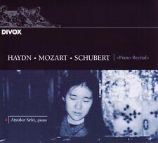 Atsuko SEKI / Haydn-Mozart-Schubert, Piano Recital / (1 CD) / NEUF