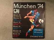 Munchen 74 Munich 1974 World Cup  Panini Sticker album 75% full   305/400