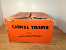 LIONEL O GAUGE # 11278 TRAIN SET/ # 1649 SANTA FE ALCO 4 CAR PASSENGER SET & BOX