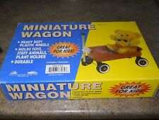 Vintage Miniature Red Wagon by Harbor Freight Company - New In Box