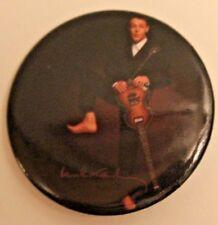 """2002 Paul McCartney Fan Button Badge """"Bare Feet"""""""