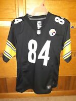 Nike Antonio Brown 84 Pittsburgh Steelers NFL Football Jersey Youth Size L