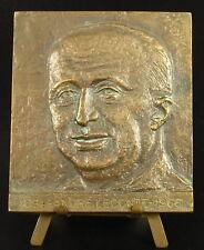 Médaille à André Leconte architecte hôtel de ville de Toulon architecture medal