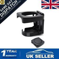 UK Car Drink Cup Bottle Holder Stand Mount Auto Folding Beverage Universal Black