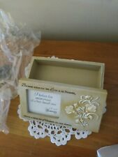Roman Inc Trinket and Photo Box Perfect for Memories of a lost loved one # 01677