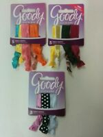 Goody Ouchless Ribbon Elastics Bundle, 13 Elastics