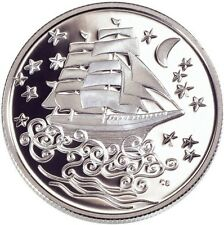 CANADA 2002 50 Cents Silver The Ghostship - Le Vaisseau Fantome Folklore Series