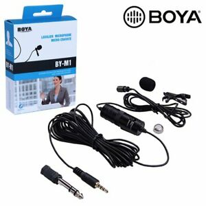 BOYA BY-M1 3.5mm Omnidirectional Microphone for Canon Nikon Sony Camera Mobile