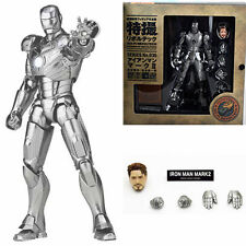 IRON MAN SCI-FI REVOLTECH/ FIGURA N.035 IRON MAN II 15 CM-FIGURE MK 2 IN BOX 6""