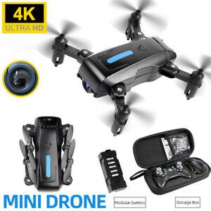 4K FPV WiFi Drohne Faltbar Selfie Drone HD Video Kamera Foto Handy Quadrocopter