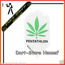 "6 Flights Pentathlon Slim ""CANNABIS"" Hanf, grün"