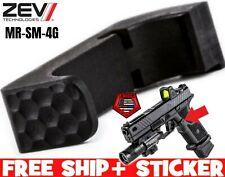 ZEV Technologies for Glock GEN 4 5 Small Frame Extended Magazine Release Black
