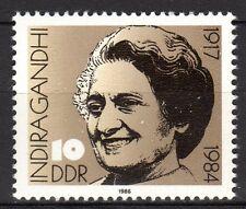 Germany / Ddr - 1986 Indira Gandhi - Mi. 3056 Mnh