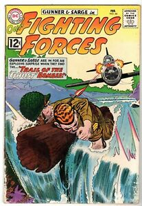 Our Fighting Forces #66 Featuring Gunner & Sarge,  Very Good - Fine Condition*